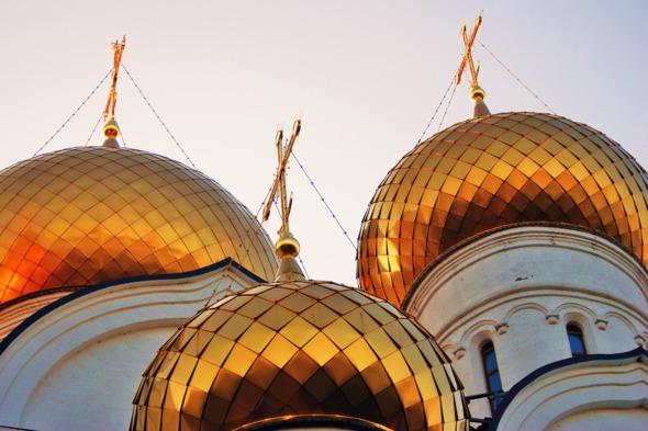 Assumption church in Yaroslavl, Russia