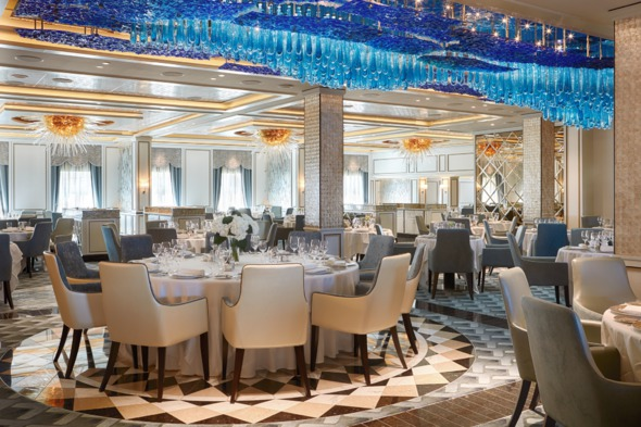 Regent Seven Seas Explorer - Compass Rose restaurant
