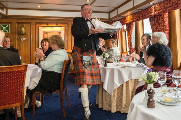 Hebridean Princess - Gala night