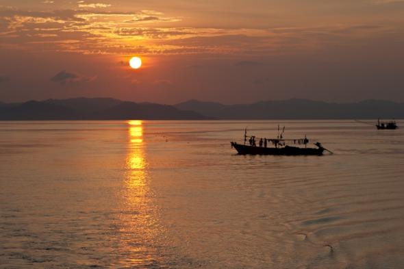 Fishermen in the Mergui Archipelago, Myanmar