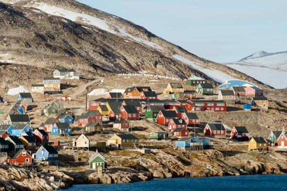 Ittoqqortoormiit village, Greenland