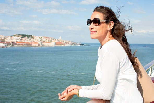 Solo traveller on Crystal Cruises
