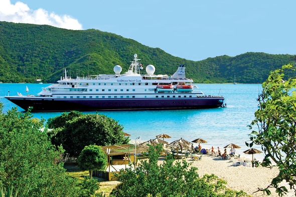 SeaDream Yacht Club in the Caribbean