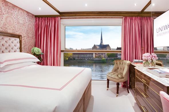 Uniworld Boutique River Cruise Collection - S.S. Joie de Vivre stateroom