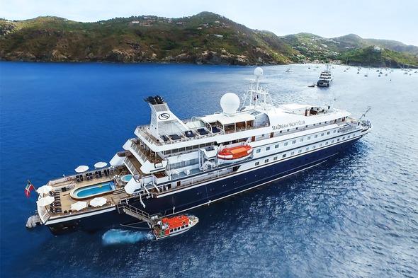 SeaDream Yacht Club in the Caribbean