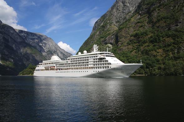 Silversea - Silver Whisper in the Norwegian Fjords