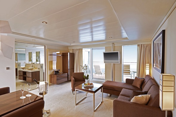 Hapag-Lloyd Cruises - Europa 2 Grand Penthouse Suite (500 - 1,000 square feet)