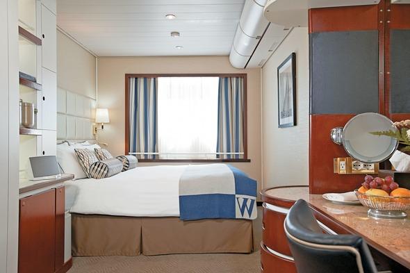 Windstar Cruises - Wind Surf stateroom