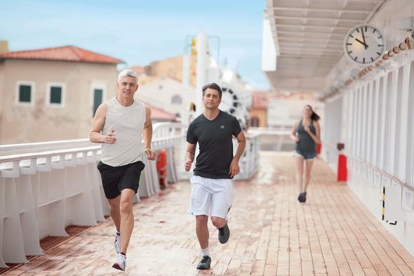 Crystal Cruises - Jogging track