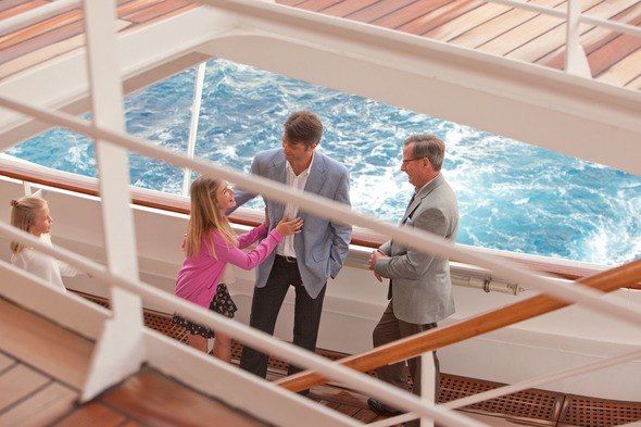 Crystal Cruises - Family group