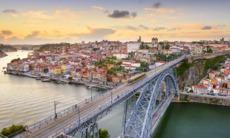 Bridge over the river Douro, Porto