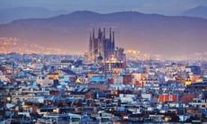 View of La Sagrada Familia, Barcelona