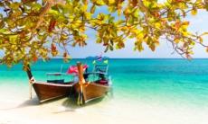 Long tail boats, Phuket, Thailand