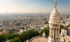 View of Paris from the Sacré Coeur