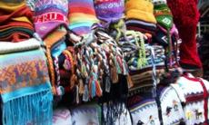 Peruvian wool souvenirs