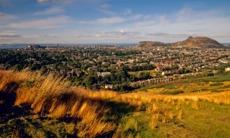 View of Edinburgh from the Braid Hills