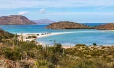 Beach in Baja California