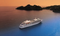 Silversea Cruises - Silver Wind at sea