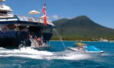 SeaDream Yacht Club - Jetski from the marina