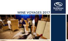 SeaDream's 2017 Wine Voyages Brochure