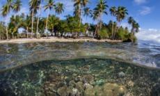Bonegi Beach on Guadalcanal, Solomon Islands