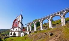Great Laxey Wheel & Viaduct, Isle of Man