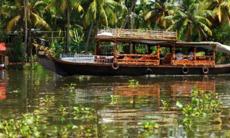 Kerala Backwaters near Cochin, India