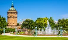 Friedrichsplatz square, Mannheim, Germany