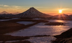 Russian Far East cruises - Viluchinsky volcano, Kamchatka
