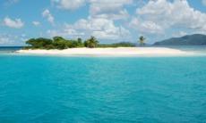 Sandy spit, Jost Van Dyke, British Virgin Islands