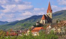Weissenkirchen church in the Wachau Valley, Austria
