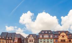 Altstadt in Mainz, Germany