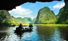Cave in Ha Long Bay, Vietnam