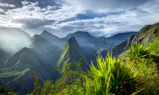 Cirque de Mafate Caldera on Réunion Island