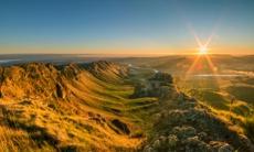 View from Te Mata Peak near Napier, New Zealand