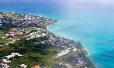 Aerial view of Barbados