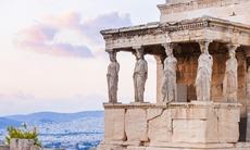 Erechtheion temple at the Acropolis, Athens
