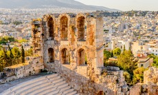 Amphitheatre at the Acropolis, Athens