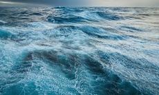 Stormy seas in the Drake Passage, Antarctica