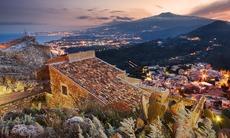 Taormina and Mount Etna, Sicily