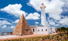 Lighthouse in Port Elizabeth, South Africa