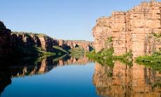 King George river, Western Australia