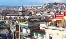 Naples old town, Italy