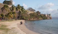 Fort-de-France beach, Martinique