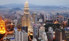 Kuala Lumpur by night, Malaysia