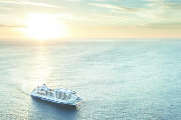 Silver Spirit at sea