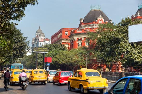 Street in Kolkata, India