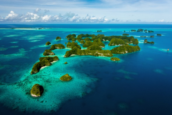Seventy Islands, Palau