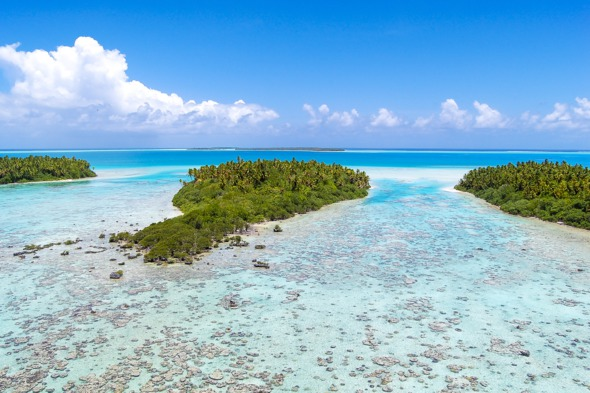 Island hopping in French Polynesia - Tetiaroa