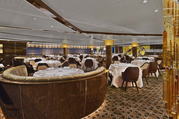 Seabourn Encore - The Grill by Thomas Keller
